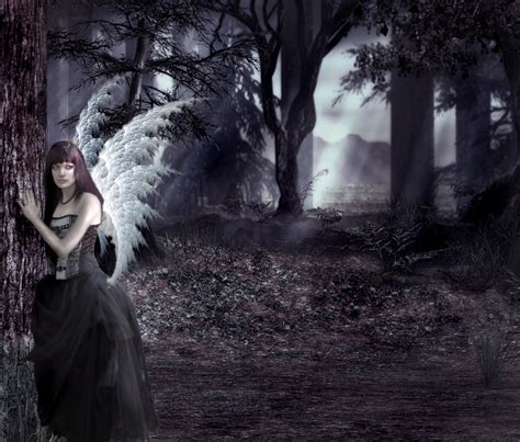 imagenes angel gotico imagenes de angeles goticos taringa