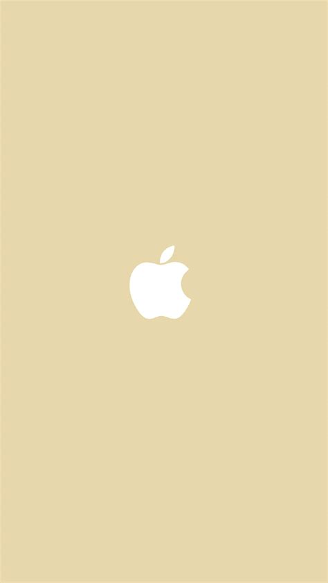 freeios simple apple logo gold parallax hd iphone