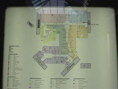 Garden State Plaza Map by Sky City Retail History Oglethorpe Mall Ga