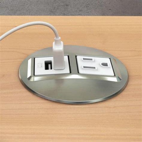 power grommet for desk flush mount power strips