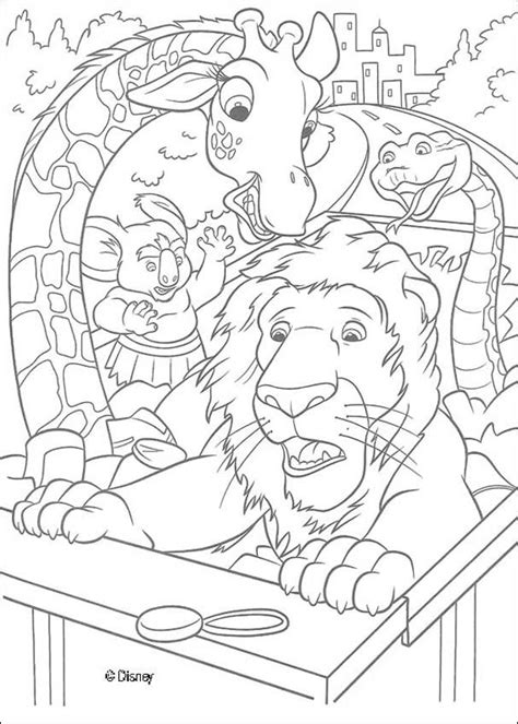 the wild 14 coloring pages hellokids com