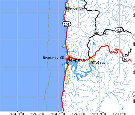 map of oregon newport image gallery newport oregon