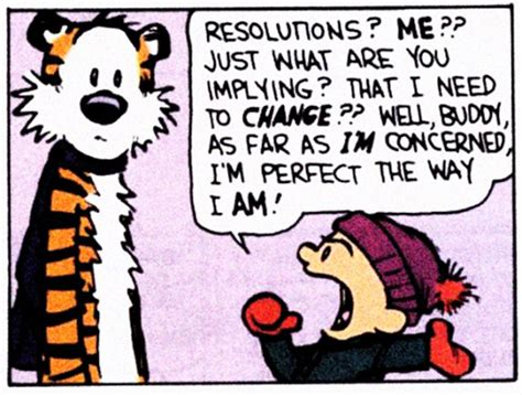 calvin and hobbes new years resolution new new year s resolutions where s my backpack