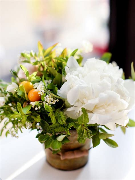 imagenes solo blancas ramos de flores y arreglos florales para decorar el hogar