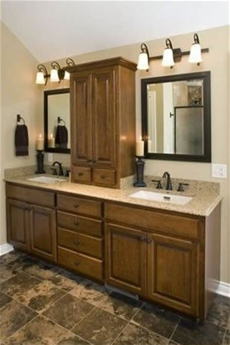 bathroom vanity with linen tower tower in center of bath vanity large bathroom vanity with linen tower offers le