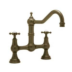 Rohl Bridge Kitchen Faucet Rohl U 4750x Perrin And Rowe Provence Cross Handle Bridge Kitchen Faucet Atg Stores