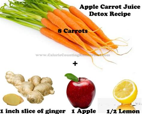 Apple Detox Ingredients by Apple Carrot Juice Detox Recipe Healthy Clean Foods