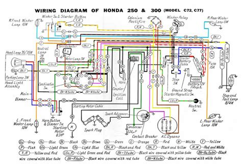 72 honda z50 wiring diagram honda z50 parts wiring diagram