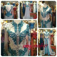 Dress Batik Piyas Kidung Hijau Toska Show Imah 16 Sep 14 Transtv Kebaya By Oey Maher Make Up