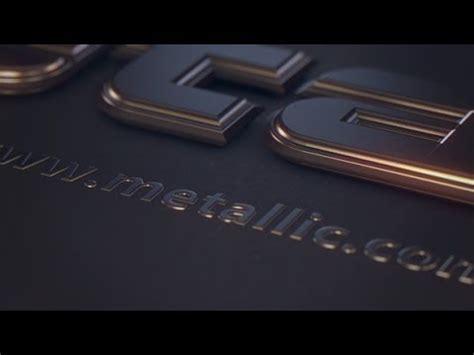 videohive cinema 4d templates free metallic text videohive cinema 4d template