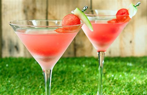 try hydrating watermelon martini healthy recipe