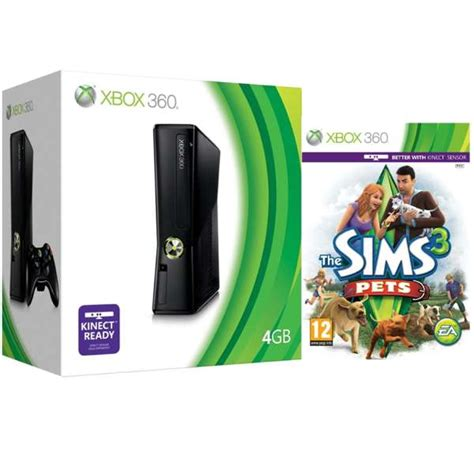 How To Buy Furniture In Sims 3 Xbox 360 by Xbox 360 4gb Arcade Bundle Includes The Sims 3 Pets