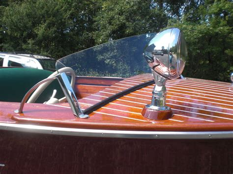 electric runabout boat chris craft rocket 17ft wooden runabout electrified fully