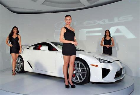 Price Of A Lexus Lfa by Lexus Manila Puts A Price On Its Whitest White Lfa