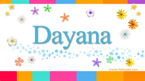 Imagenes Que Digan Dayana | dayana significado del nombre dayana nombres