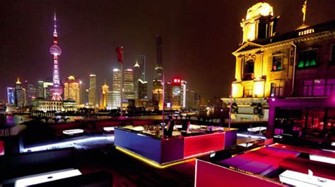 Best Roof Top Bars by The Best Rooftop Bars In Shanghai