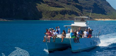 kauai small boat tours napali catamaran the best boat for a tour of the coast