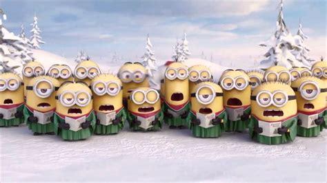 imagenes de feliz navidad minions los minions feliz navidad youtube