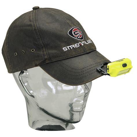 streamlight hat lights streamlight 61702 bandit includes headstrap hat clip