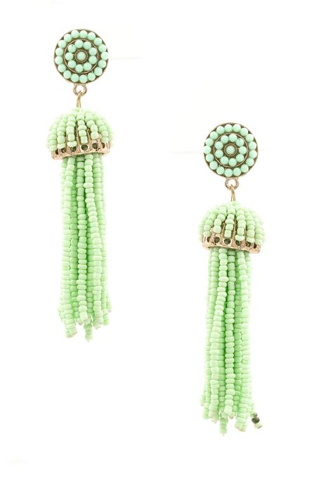 seed bead tassel earrings seed bead tassel earrings
