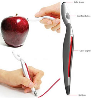 pen that scans colors vidig vida digital coreana bola caneta que copia a