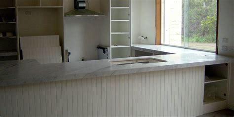 white stone bench tops kitchen bench top white carrara marble stonemasons