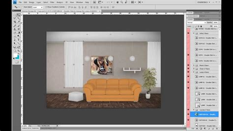 designing with photoshop make realistic interiors with photoshop youtube