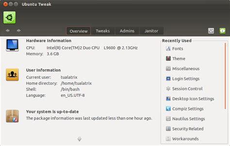 javascript tutorial ubuntu ubuntu tweak final para ubuntu 11 10 disponible para