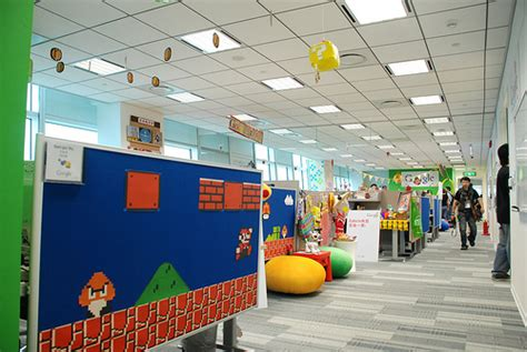 Office Playground by Colorful Office Interiors Which Look Like A Playground