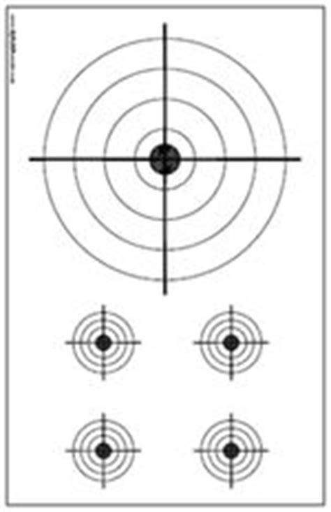 printable 11x17 targets printable high power rifle targets for shooting practice