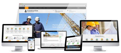 construction joomla template construction template hotthemes