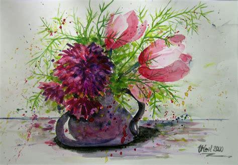 vase mit blumen bild blumen vase zeichnungen tiere keili bei kunstnet