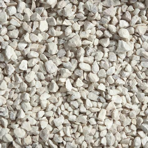 graviers en marbre blanc 8 1 6mm 25 kg leroy merlin
