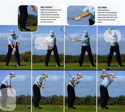 golf swing sequence retief goosen swing sequence