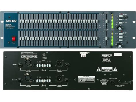 Equalizer Gqx 1502 ashly gqx 3102 stage sound