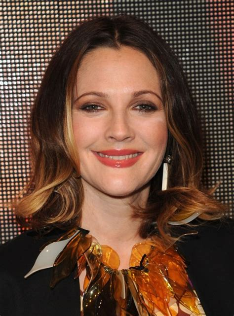 2015 hairstyle fir mom drew barrymore celebrity medium drew barrymore trendy medium length hairstyles popular