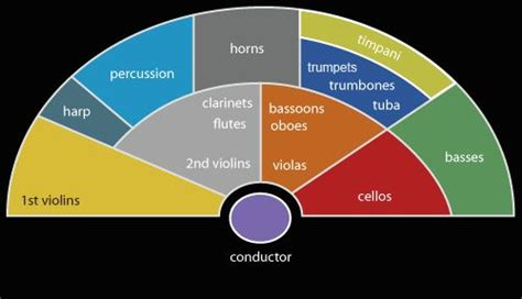 how many sections does a symphonic orchestra have 17 best images about music education resources on