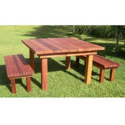 outdoor redwood table redwood outdoor square patio table garden furniture wood tables