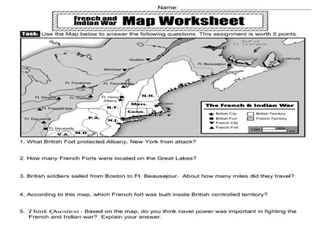 And Indian War Worksheet Pdf