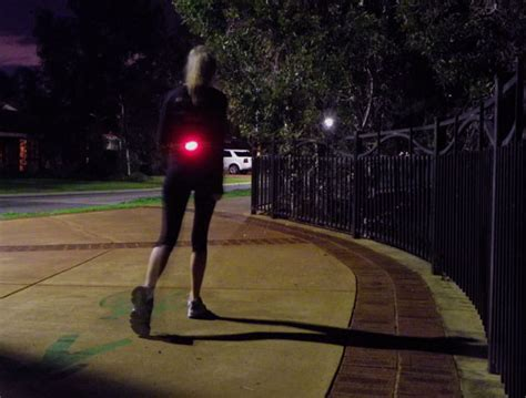 running lights for runners running belt with led 130db alarm niterunner