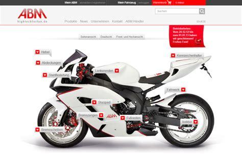 Online Motorrad Shop by Abm Online Shop Motorrad News