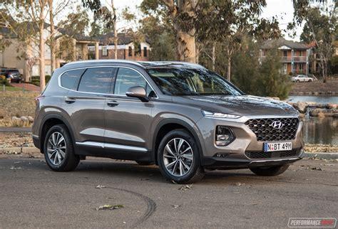 2019 Hyundai Santa by 2019 Hyundai Santa Fe Elite Review Performancedrive