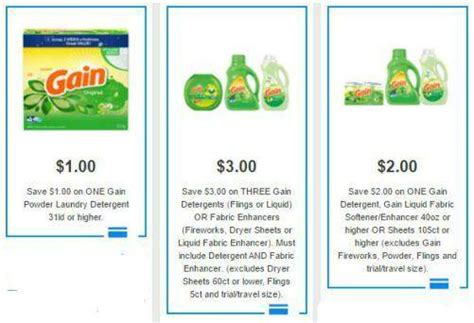 printable gain coupons gain coupons 2017 for detergent flings fireworks more