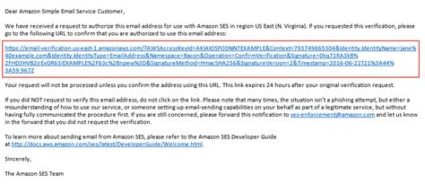 amazon email how to send an email amazon web services aws