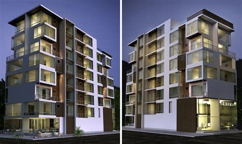 Apartment Building By Kasrawy On Deviantart Apartment Building Design