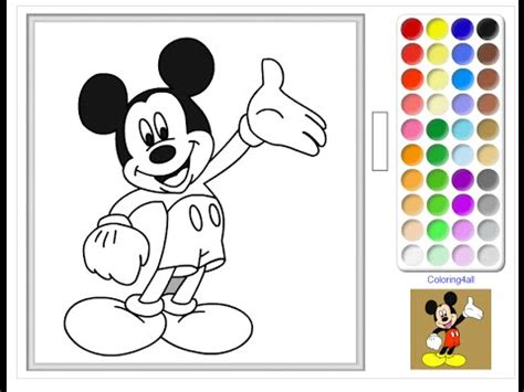 mickey mouse color mickey mouse clubhouse coloring pages mickey mouse