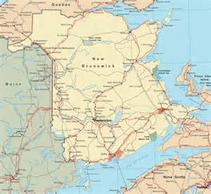 map of cities and towns map of new brunswick with cities and towns