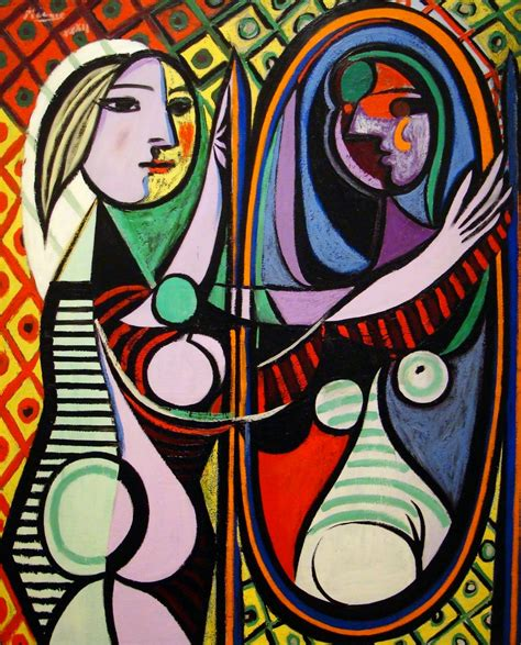 picasso paintings through the years history of painting picasso with before a mirror