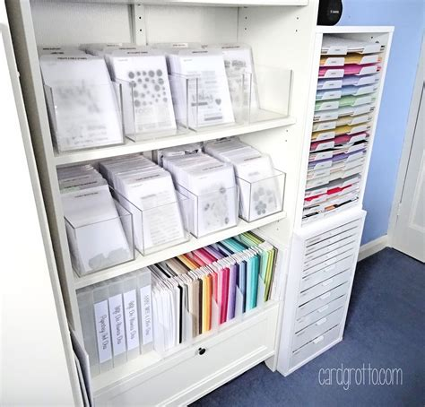 Craft Paper Storage Ideas - craft room clear st storage bjl craft room ideas