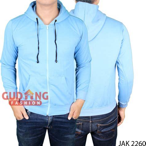 New Jaket Droopdry Hitam Dan Biru Navy Pria Wanita Bola Eropa Chi jaket fleece pria keren fleece biru muda jak 2260 gudang fashion